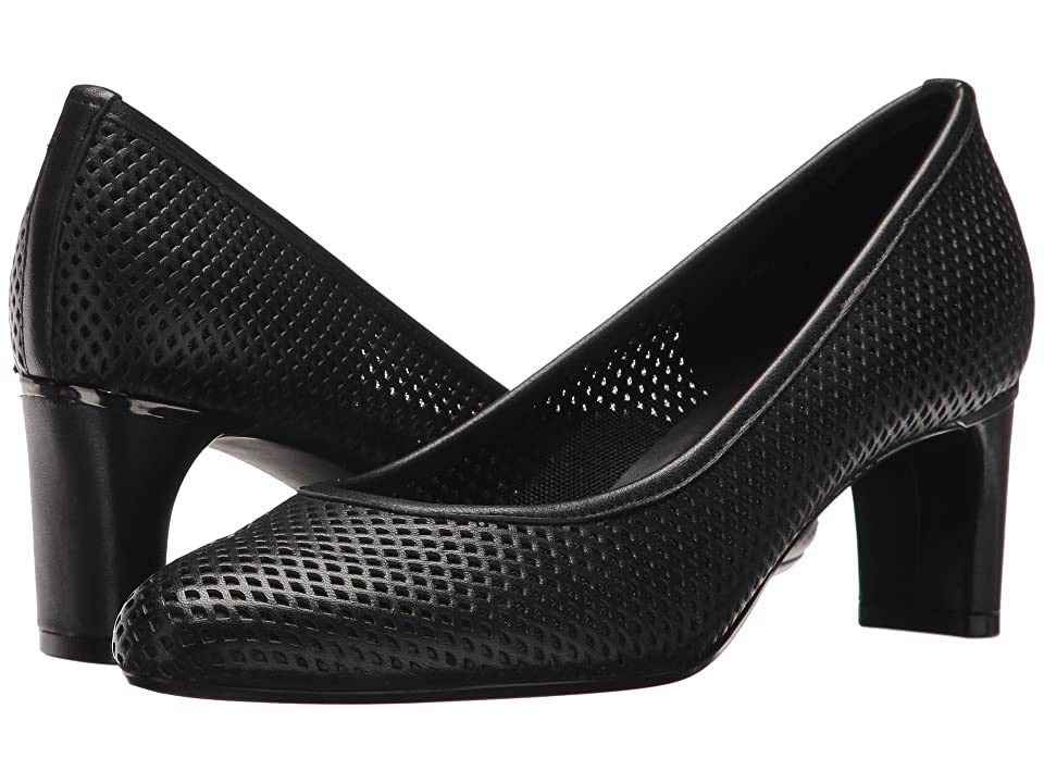 Vaneli Dawne (Black Nappa) High Heels