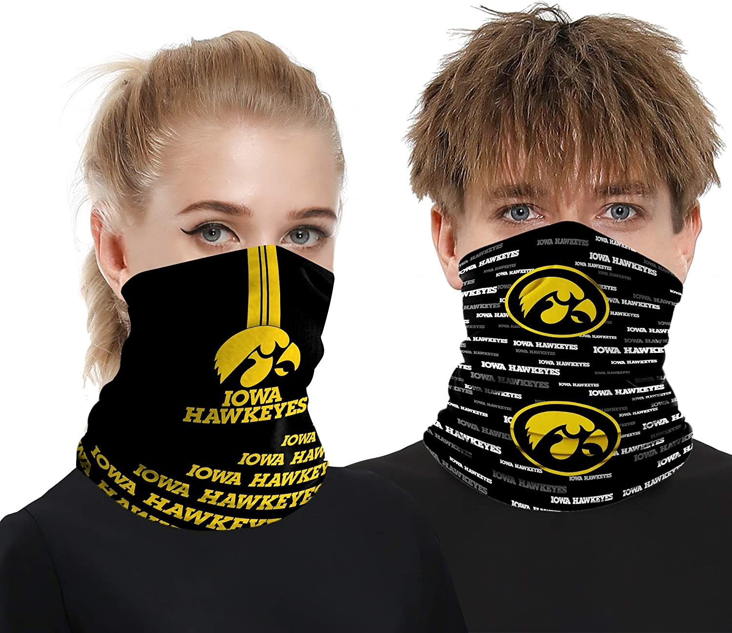 Aigmal Face Shield Neck Gaiter Bandanas Breathable Cooling Elastic Scarves Mask Headwear for Dust Outdoor Fans