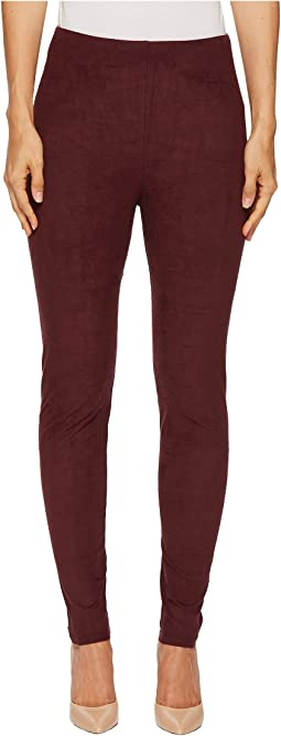 Lysse - High-Waist Faux Suede Leggings
