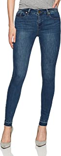 Women's Frayed Hem Skinny Jean