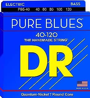 DR Strings PURE BLUES Bass Guitar Strings (PB5-40)