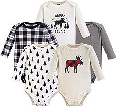 Hudson Baby mamelucos de algodón, manga larga, para bebé