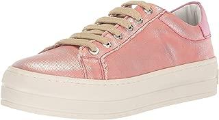 Women's Heather Sneaker, Pink, 7.5 Medium US