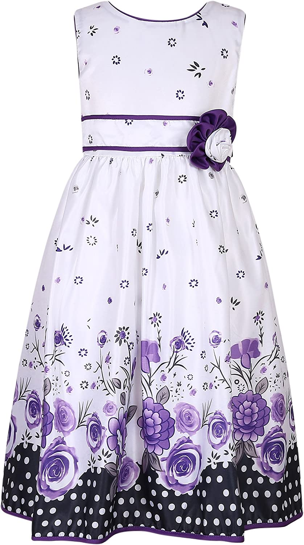 Richie House Little Girls' Flower Party Princess Dress Size 2-6Y RH2460