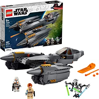 LEGO Star Wars: Revenge of The Sith General Grievous's Starfighter 75286 Spacecraft Set with General Grievous, OBI-Wan Ken...