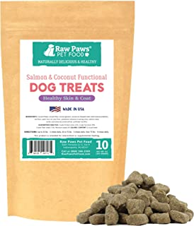 Raw Paws Natural Dog Supplement Soft Chew Treats, Made in The USA - 3 Unique Formulas for Overall Health - Omega 3 Skin & Coat, Hip & Joint and Prebiotics & Protiotics for Dogs