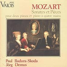 Wolfgang Amadeus Mozart: Sonatas & Pieces for 2 Pianos & Piano 4 Hands - Paul Badura-Skoda & Jörg Demus