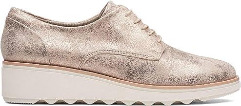 Clarks Sharon Crystal, Zapatos de Cordones Derby para Mujer