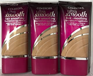 CoverGirl Ultra Smooth Foundation, 842 Medium Beige, (Pack of 3)
