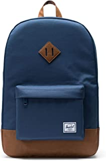 herschel heritage backpack navy tan