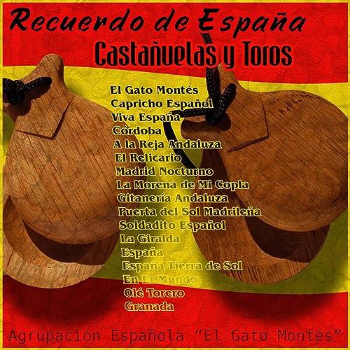 Recuerdo de España - Castañuelas y Toros