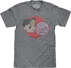 Tee Luv The Original Bazooka Joe Bubble Gum T-Shirt - Licensed Topps Candy Shirt