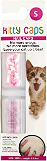 Kitty Caps Kitty Caps Nail Caps for Cats | Safe & Stylish Alternative to Declawing | Stops Snags and Scratches, Small (6-8...