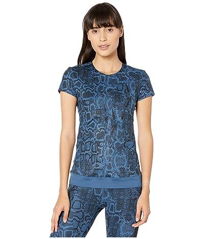 adidas by Stella McCartney Fits+ Tee FK8910 (Visual Blue) Women
