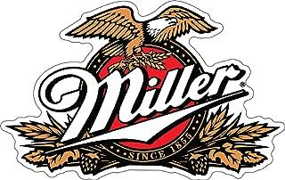 Craftmag Miller Beer Logo Decorative Vinyl Sticker Decal Waterbotle Bumper Window Wall - 4 x 6 inch
