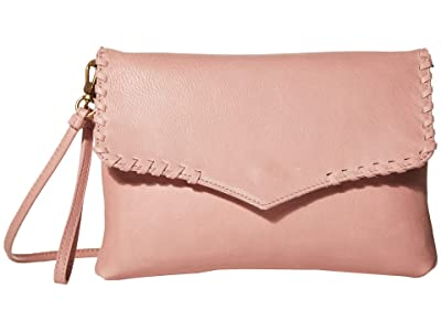 The Sak Legend Clutch Crossbody by The Sak Collective (Blush) Handbags