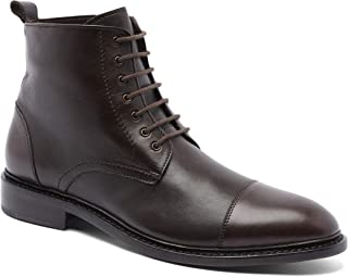"""Anthony Veer Men's Monroe Merino Wool Leather Lace-up 6"""" Dress Boot"""