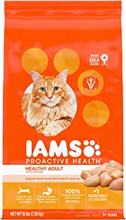 IAMS Proactive Health Adult Original with Chicken Dry Cat Food 16 Pounds