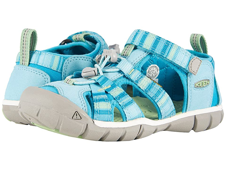 Keen Kids Seacamp II CNX (Little Kid/Big Kid) (Pastel Turquoise Raya) Girls Shoes
