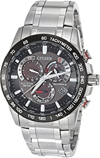 Men's PCAT Quartz Sport Watch with Stainless Steel Strap, Silver, 21.5 (Model: CB5898-59E)