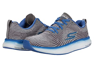 SKECHERS Go Run Forza 4 (Grey/Blue) Men