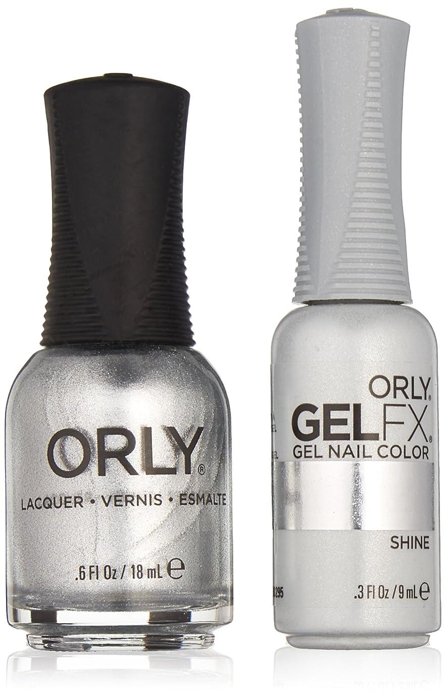 挑発する平衡一Orly Lacquer + Gel FX - Perfect Pair Matching DUO Kit - Shine