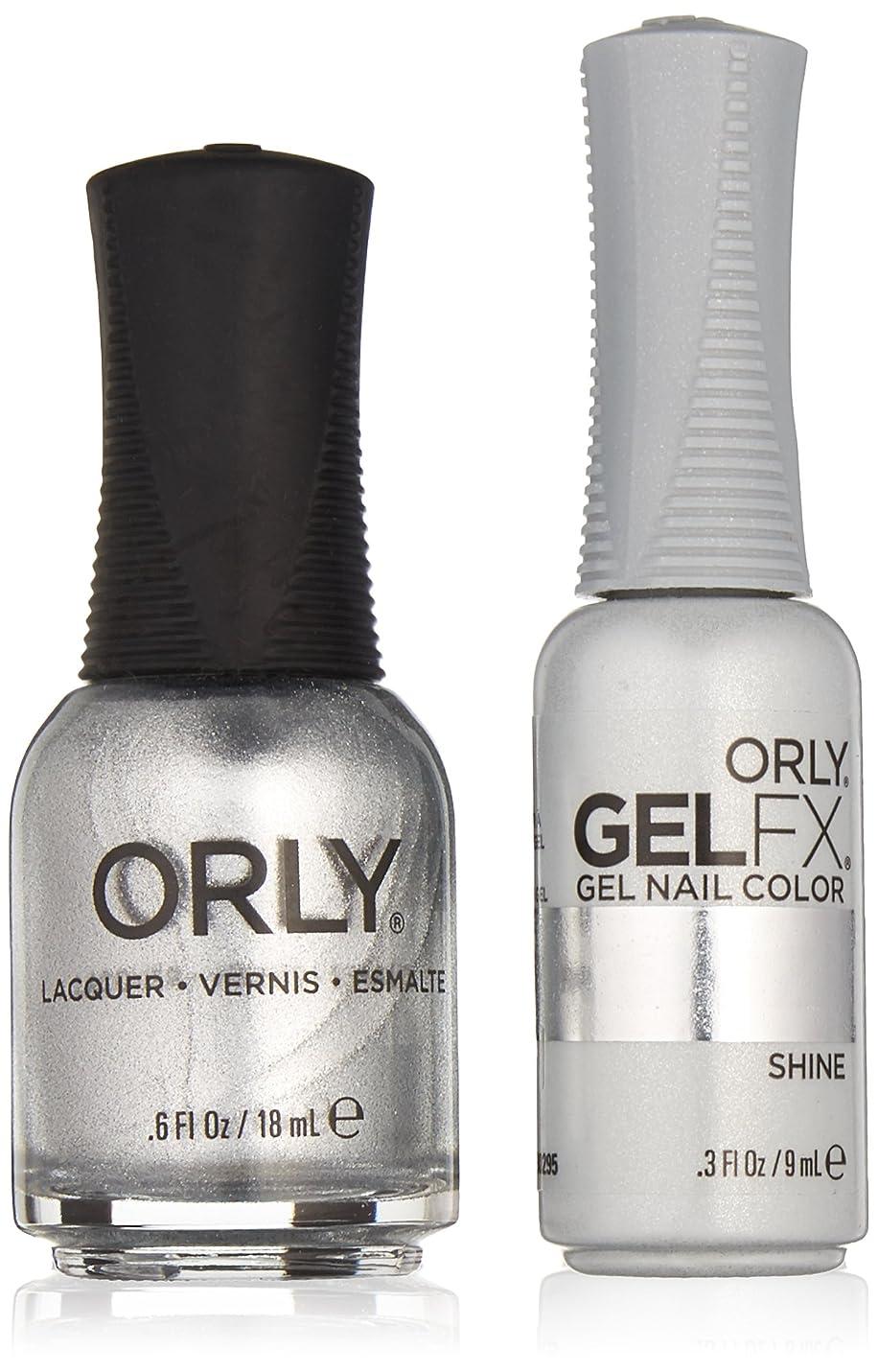 ファイアル追うインスタントOrly Lacquer + Gel FX - Perfect Pair Matching DUO Kit - Shine
