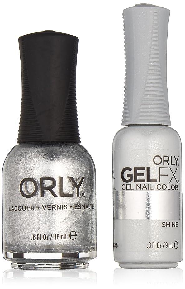 いつ自分降下Orly Lacquer + Gel FX - Perfect Pair Matching DUO Kit - Shine