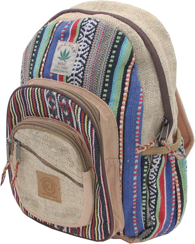 Handmade Hemp Backpack Purse, by KayJayStyles