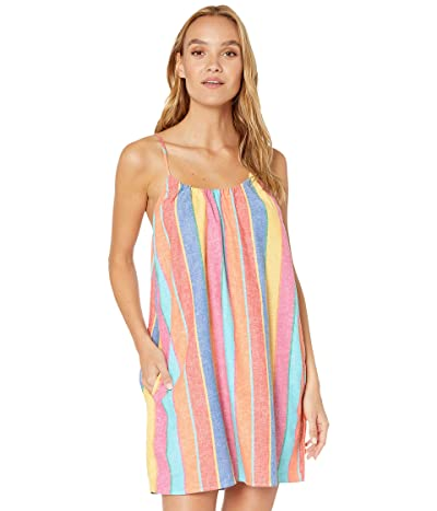 Show Me Your Mumu Carlotta Mini Dress (Rainbow Stripe Linen) Women