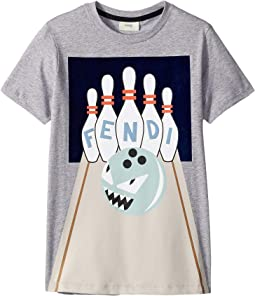 Short Sleeve Bowling Graphic T-Shirt (Big Kids)