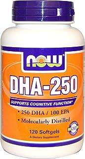 DHA-250, 50% DHA 120 Softgels (Pack of 2)