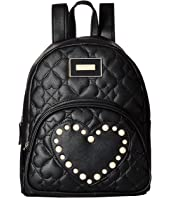 Betsey Johnson - Pearl Heart Backpack
