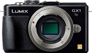 パナソニック ミラーレス一眼カメラ ルミックス GX1 ボディ 1600万画素 エスプリブラック DMC-GX1-K