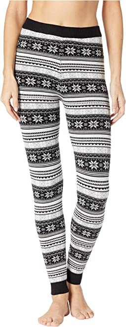 Sweater Knit Printed Leggings