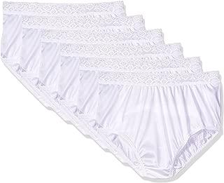 Womens 6-Pack Nylon Brief Panties