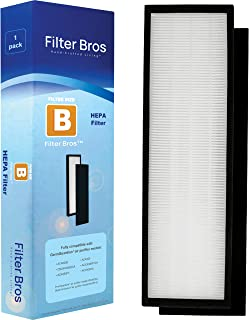FLT4825 HEPA Filter B compatible with GermGuardian AC4825 / AC4825E / AC4825DLX Home Air Cleaner Purifiers, AC4300BPTCA / AC4850PT with Pet Technologies and AC4900CA, CDAP4500BCA