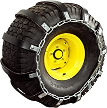 tire chains for compact tractor