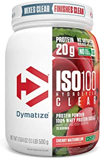 Sponsored Ad - Dymatize ISO100 Hydrolyzed Clear Protein Powder, 100% Whey Protein Isolate Powder, 20g of Protein & 4g BCAA...