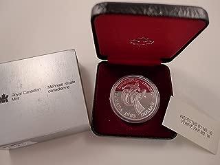 1983 CA Canada Silver Dollar Proof 50% Silver Universiade - Edmonton Commemorative $1 Mint State