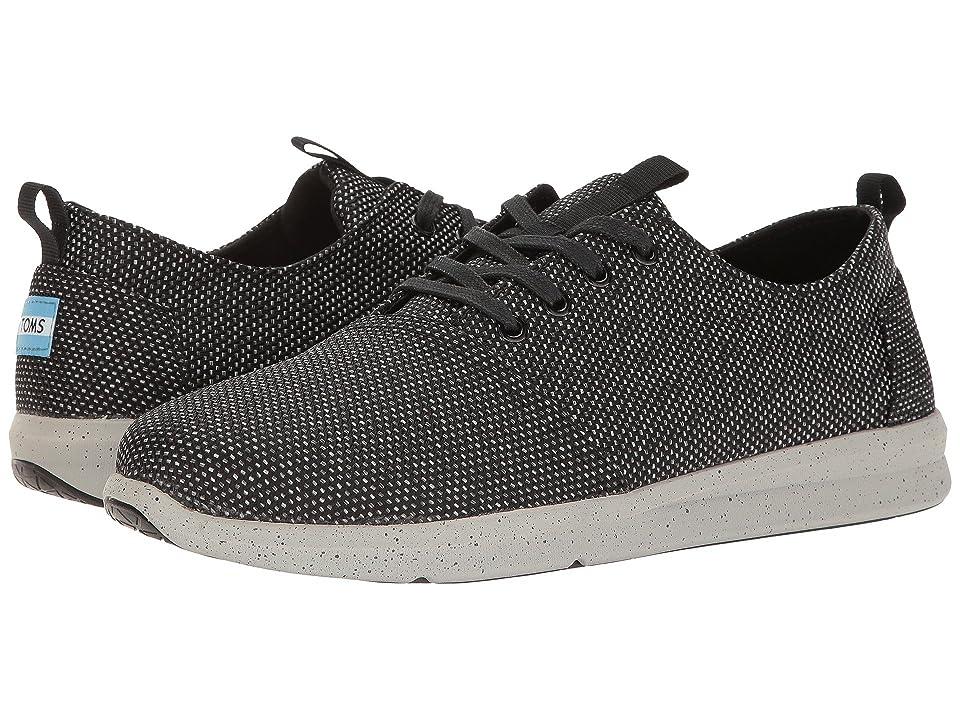 TOMS Del Rey Sneaker (Black/Grey Yarn-Dye) Men