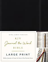 Best kjv bible with blank pages for notes Reviews