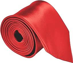 Neckties For Men 3.5 Microfiber Woven Satin Solid Color Ties