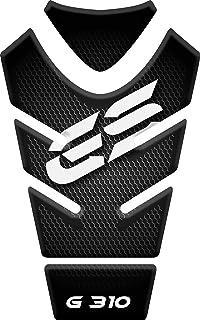 tanque de la motocicleta y la protección de la pintura universal Monturas y accesorios Motoking tanque pad compatible ETIQUETAS 3D-ETIQUETA  BMW R 1200 GS negro y azul 17.5 cm x 28 cm