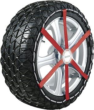 MICHELIN 92340 Textile Snow Chains, Easy Grip K15, ABS and ESP Compatible, TÜV/GS and ÖNORM, 2 Pieces: image