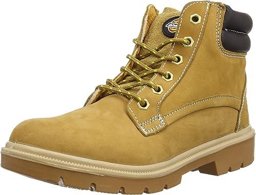 Dickies Donegal, Chaussures de sécurité Homme - Marron Marron (nubuck), 45 EU  confortablement