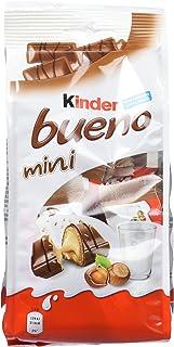 Kinder Bueno Mini Barritas con Relleno de Leche y Avellanas