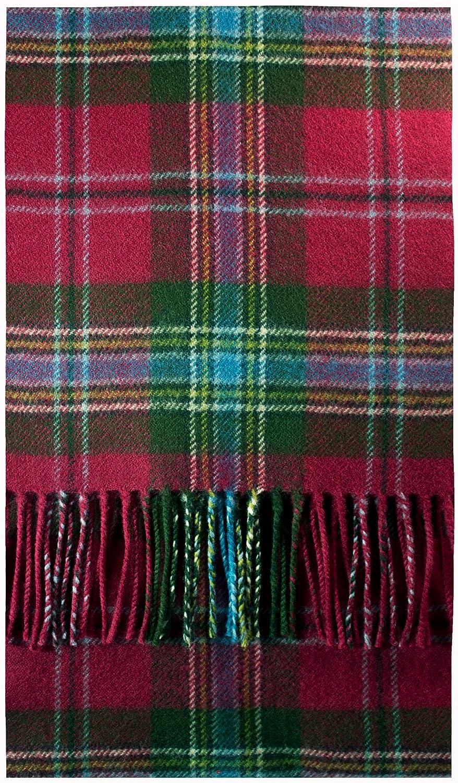 MacLean Of Duart Weathered Tartan Luxury Brushwool Scarf