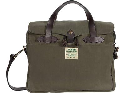 Filson Original Briefcase Ducks Unlimited (Otter Green) Bags