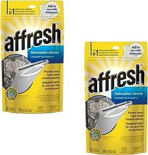 Affresh W10282479 Dishwasher Cleaner, 12 Tablets